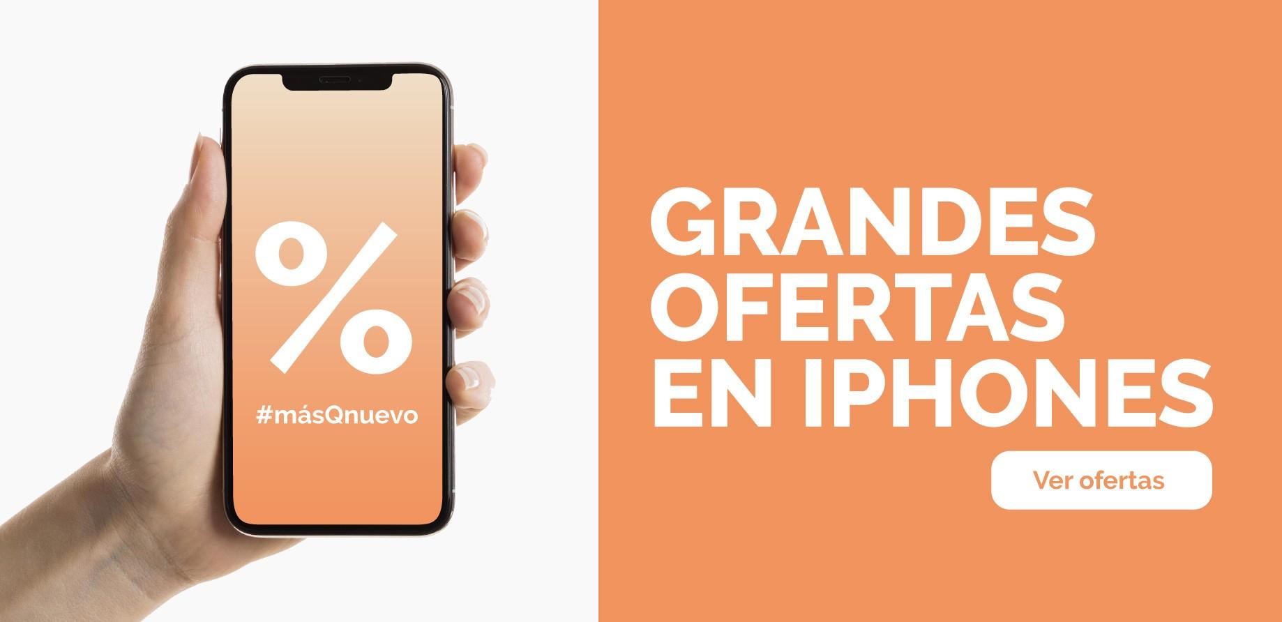 GRANDES OFERTAS EN IPHONES EN másQnuevo